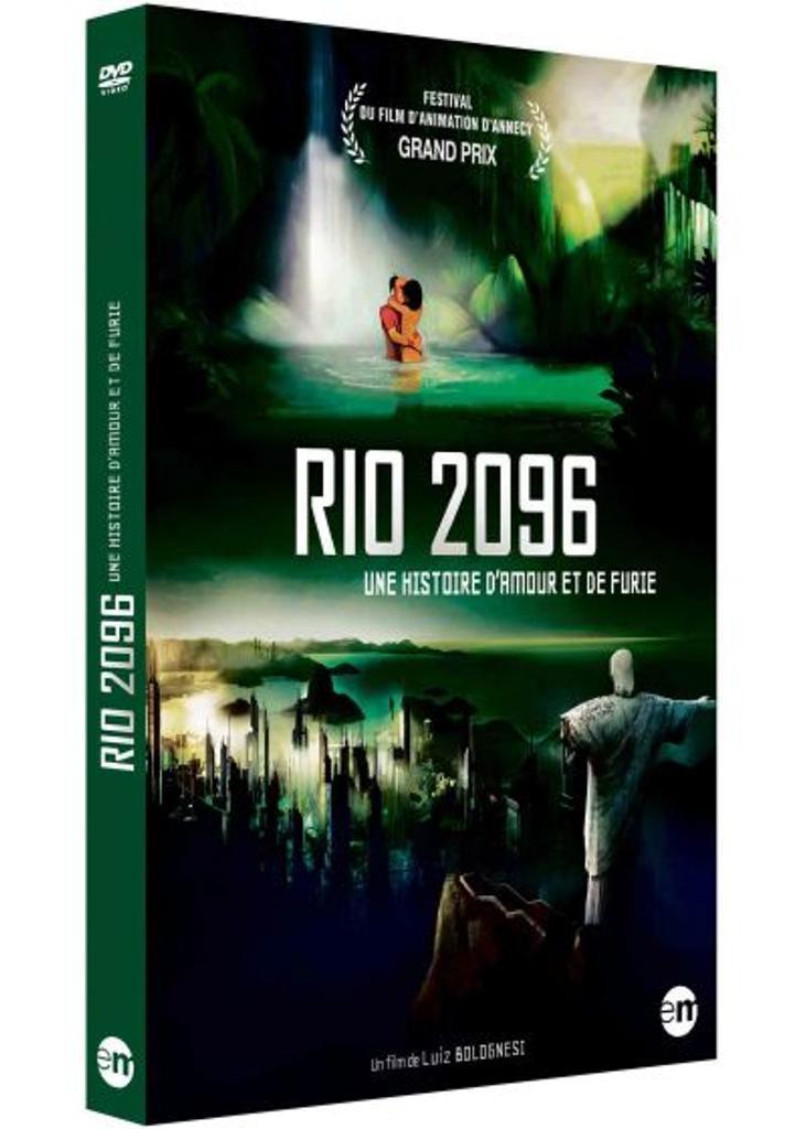 Rio 2096 - Une histoire d'amour et de furie / réalisé par Luiz Bolognesi, |