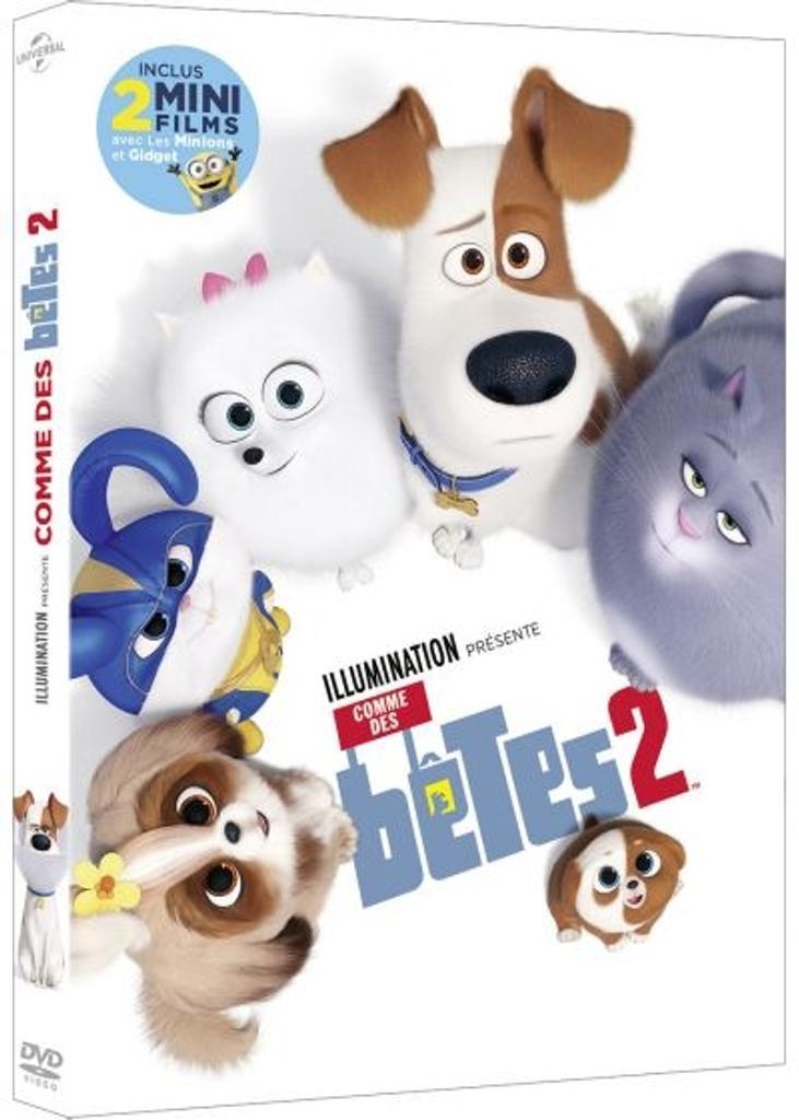 Comme des bêtes 2 / réalisé par Yarrow Cheney, Chris Renaud, Jonathan del Val |