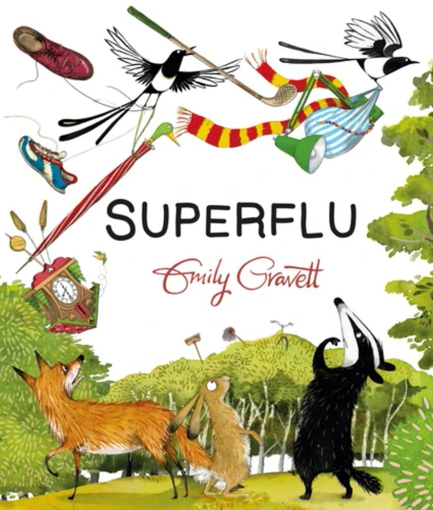 Superflu / Emily Gravett   Gravett, Emily (19..). Auteur