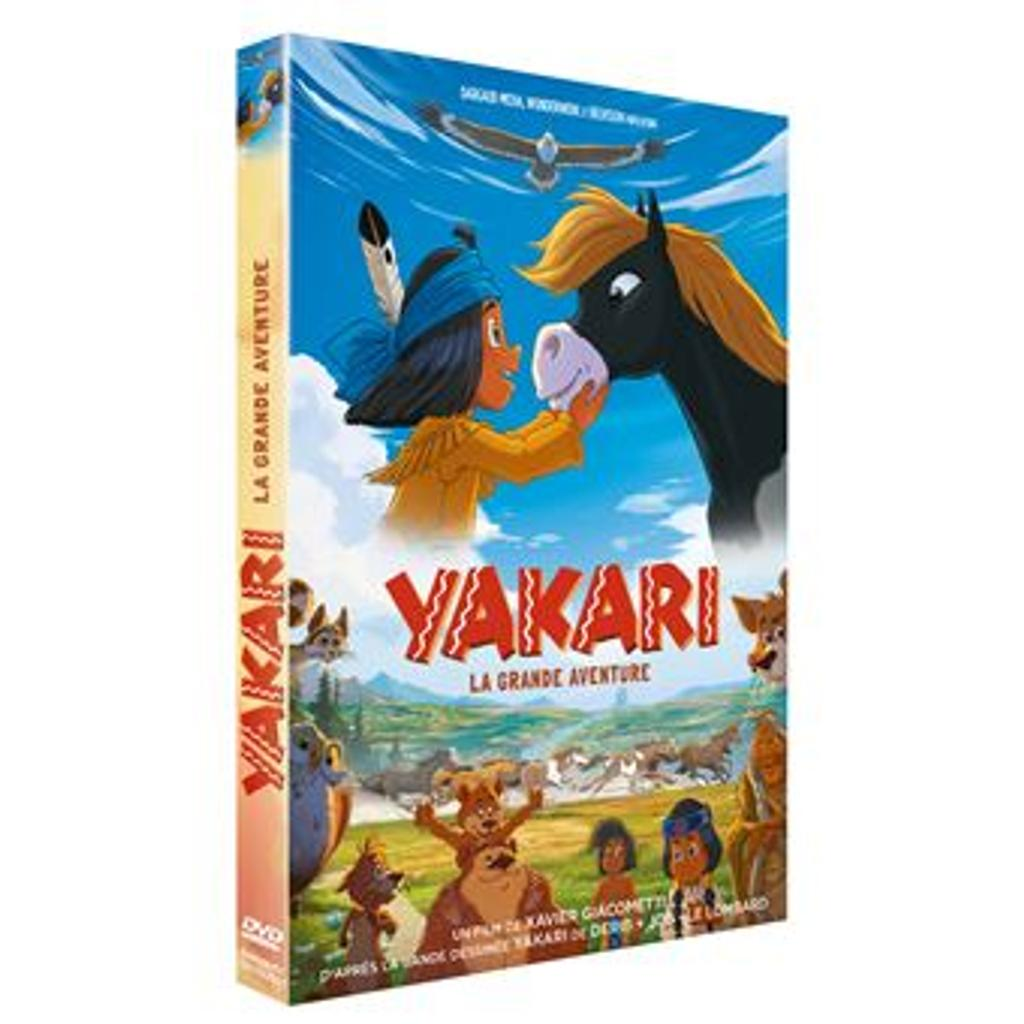Yakari : La grande aventure / Réalisateurs: Xavier Giacometti et Toby Genkel |