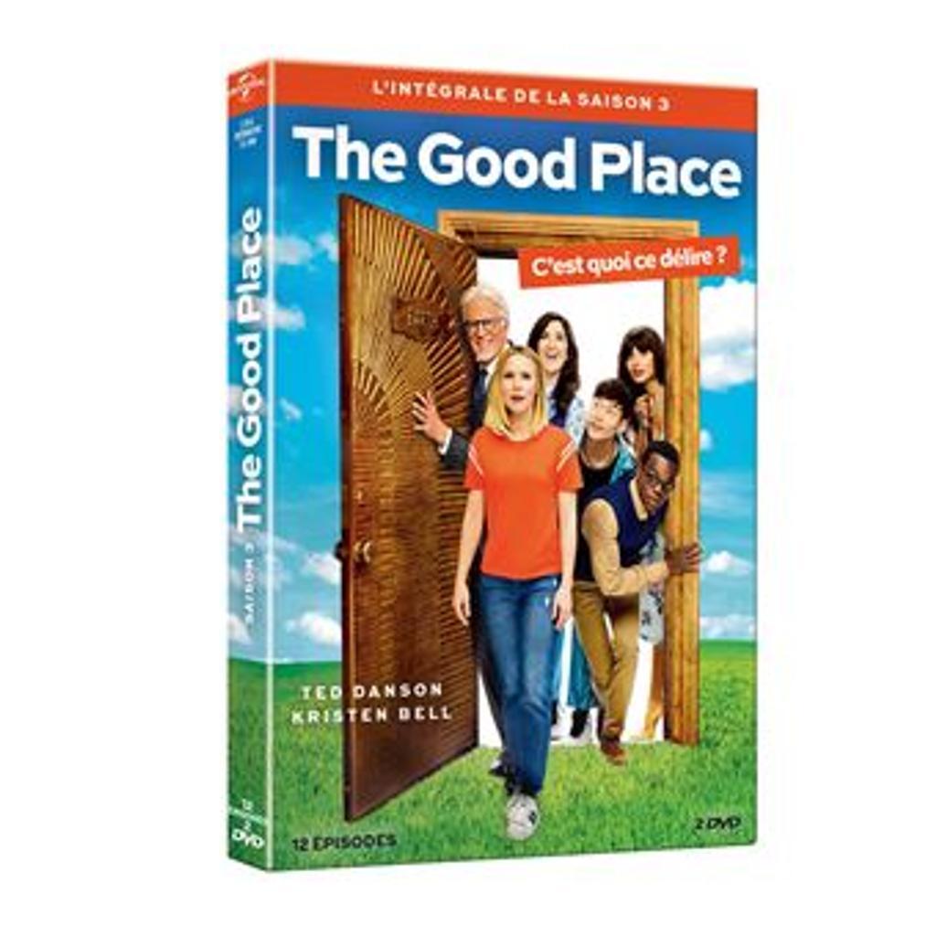 The good place . Saison 3 / Créée par Michael Schur |
