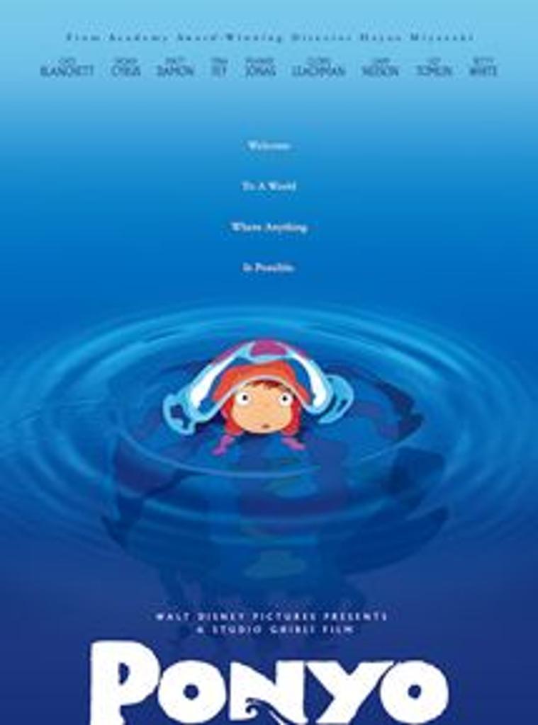 Ponyo sur la falaise / Réalisateur et scénariste : Hayao Miyazaki   Miyazaki, Hayao (1941-....) - Réalisateur d'anime. Réalisateur. Scénariste